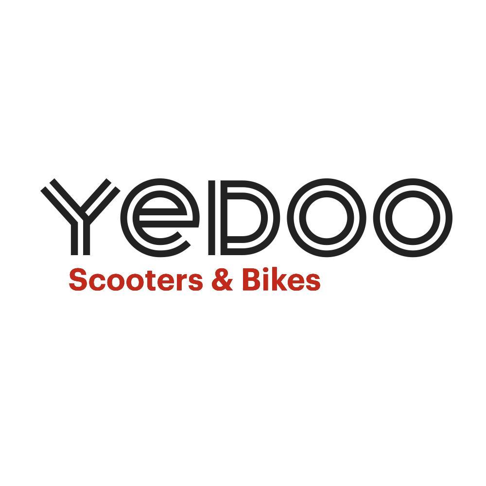 yedoo dragstr alu scooter black 20 20 dogscooter. Black Bedroom Furniture Sets. Home Design Ideas